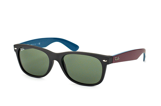 Ray-Ban New Wayfarer RB 2132 6182large vue en perpective