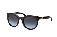 Dolce&Gabbana DG 4249 501/8G, Butterfly Sonnenbrillen, Schwarz