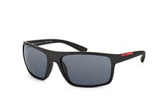Prada Linea Rossa Ps-02Qs Dg0-5Z1, Sporty Sonnenbrillen, Schwarz