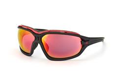 Adidas evil eye evo L A 193 6050, Sporty Sonnenbrillen, Schwarz