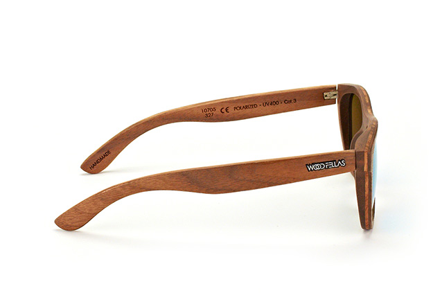 Wood Fellas Stachus 10705 walnut green 327 vista en perspectiva