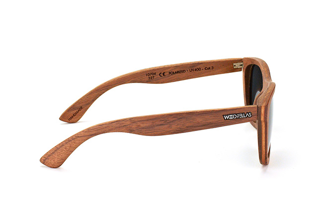 Wood Fellas Odeon 10706 walnut grey perspective view
