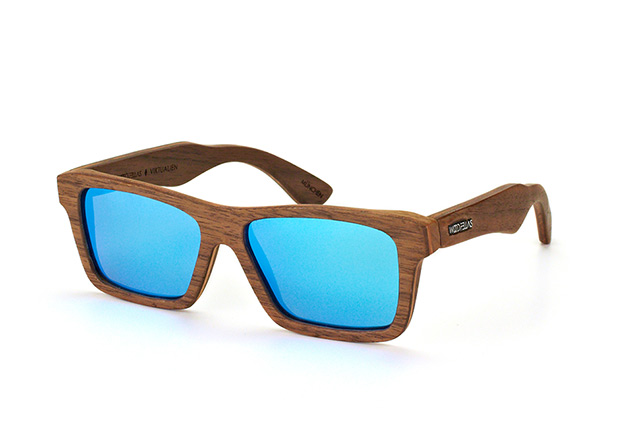Wood Fellas Viktualien 10707 walnut blue perspective view