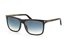 Tom Ford FT 0392/s 02W, Square Sonnenbrillen, Schwarz