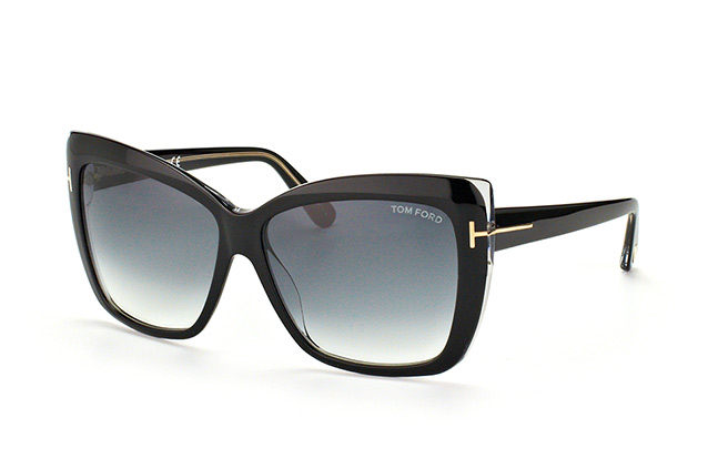 Tom Ford Irina FT 390/S 01B vista en perspectiva