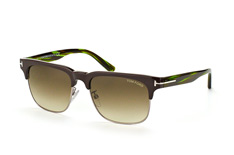 Tom Ford Louis FT 0386/s 48K, Browline Sonnenbrillen, Braun