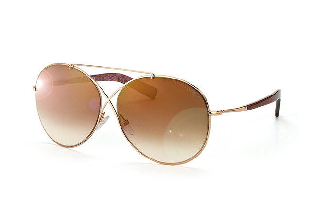 Tom Ford Iva FT 0394/S 28F vue en perpective