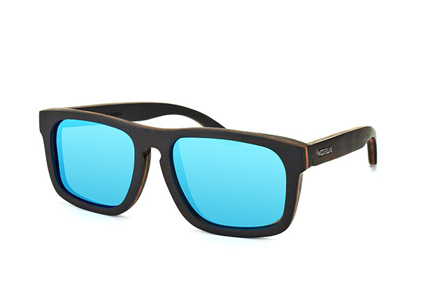 Wood Fellas Wiesn 10714 ebony blue vue en perpective