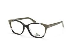 Lacoste L 2737 001, Square Brillen, Schwarz