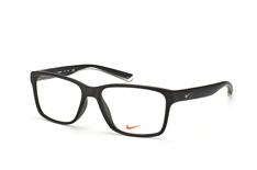Nike 7091 011, Square Brillen, Schwarz