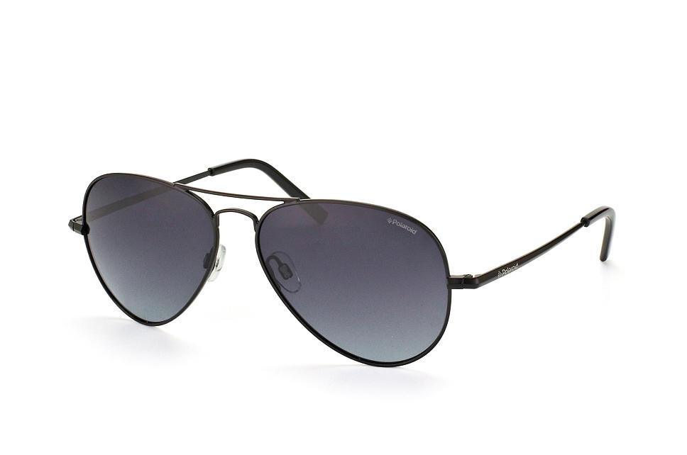 PLD 1017/s 003, Aviator Sonnenbrillen, Schwarz