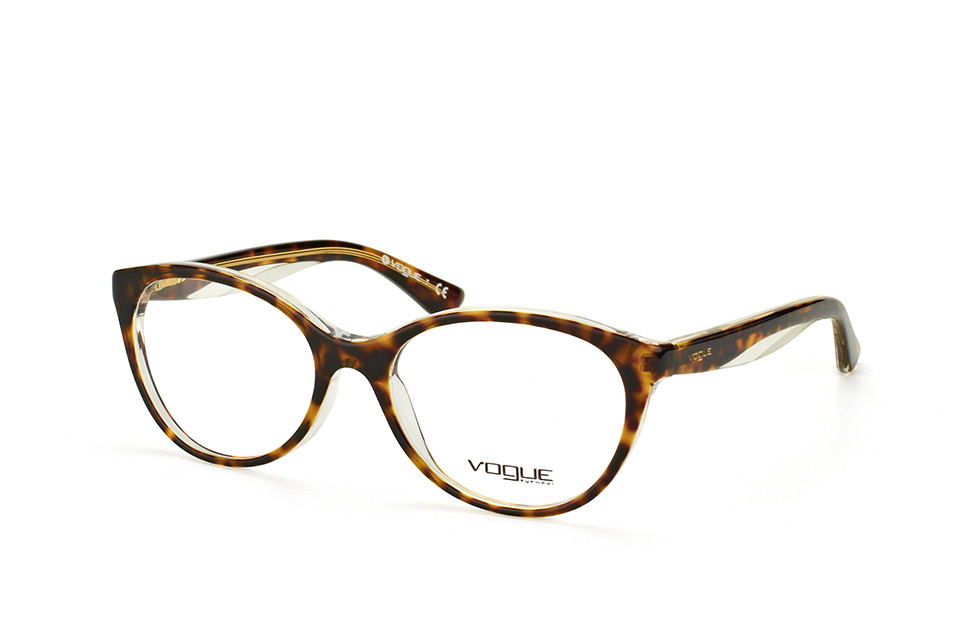 Vogue Kunststoffbrille VO 2787 1916 Gr. 53 in havanna, transparent hinterlegt