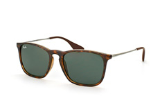 ray-ban-chris-rb-4187-710-71-square-sonnenbrillen-havana
