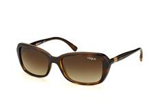 Vogue Eyewear VO 2964Sb 65613, Square Sonnenbrillen, Braun