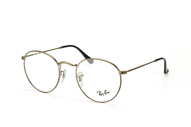 c30f7719a55 ... Glasses  Ray-Ban ROUND METAL RX 3447V 2620 L. null perspective view ...