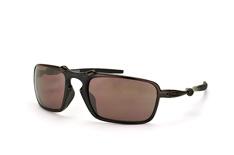 Oakley Badman OO 6020 06 Prizm™ Daily, Sporty Sonnenbrillen, Schwarz