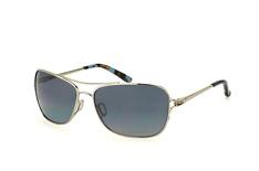 Oakley Conquest OO 4101 06, Aviator Sonnenbrillen, Silber