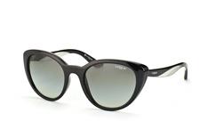 Vogue Eyewear VO 2963-S W44/11, Butterfly Sonnenbrillen, Schwarz