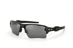 Oakley Flak OO 9188 08, Sporty Sonnenbrillen, Schwarz