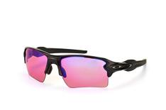 Oakley Flak OO 9188 06 Prizm™ Trail, Sporty Sonnenbrillen, Schwarz