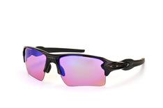 Oakley Flak OO 9188 05 Prizm™ Golf, Sporty Sonnenbrillen, Schwarz