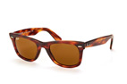 Ray-Ban Wayfarer RB 2140 1174/4T Brown / Brown perspective view thumbnail