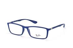 Ray-Ban RX 7048 5439, Rectangle Brillen, Blau