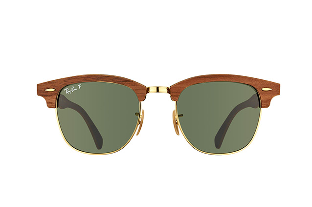 Ray-Ban CLUBMASTER(M)RB 3016-M 1181/58 perspective view