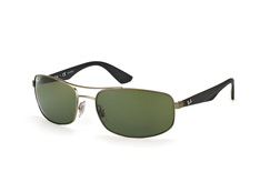 Ray-Ban RB 3527 029/9A, Square Sonnenbrillen, Silber