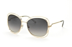 Chloé CE 119S 734 Gold / Gradient grey perspective view thumbnail