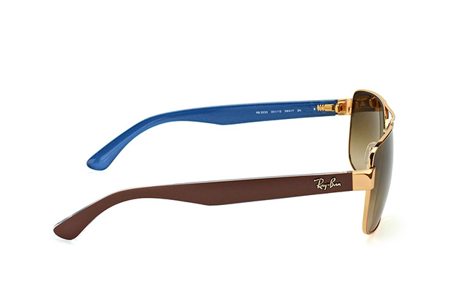 Ray-Ban RB 3530 001/13 perspective view