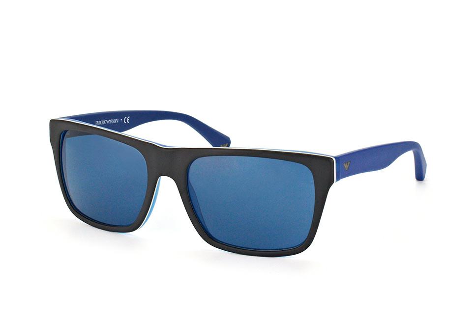 EA 4048 5392/80, Square Sonnenbrillen, Blau