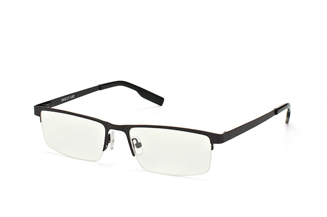 Mister Spex Collection Leon BLK Perspektivenansicht