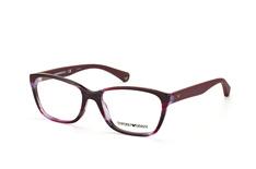 Emporio Armani EA 3060 5389, Square Brillen, Violett