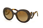 Prada PR 27RS UBT-4O2 Dark brown / Gradient brown perspective view thumbnail