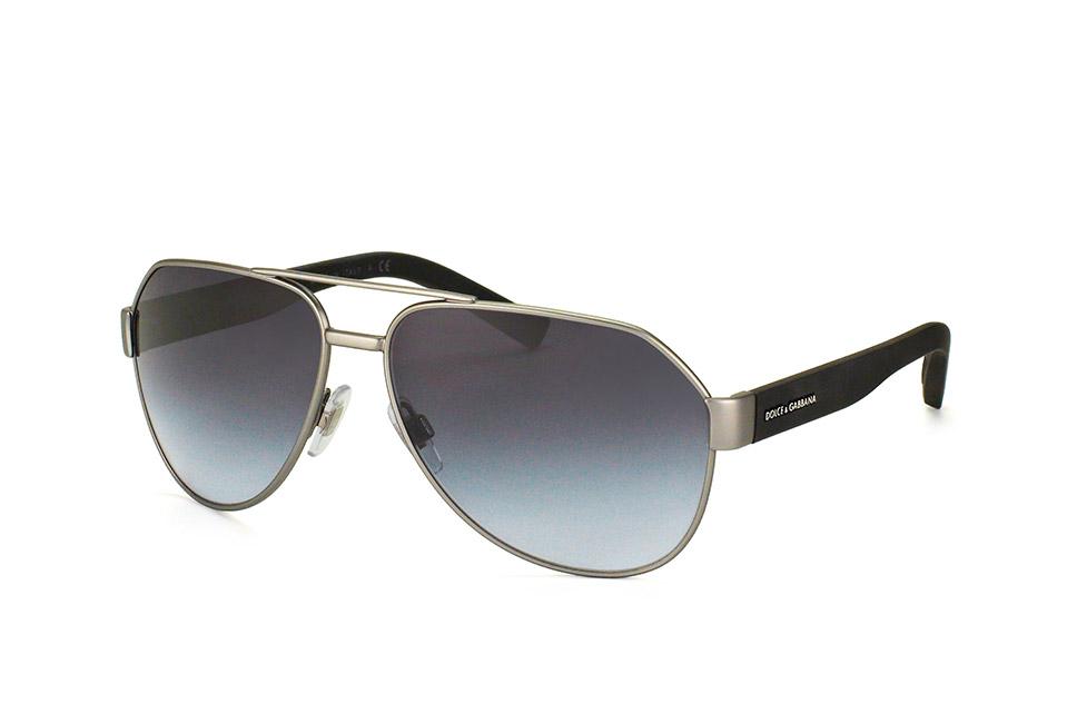 DG 2149 1262/8G, Aviator Sonnenbrillen, Silber