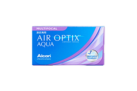 Air Optix Air Optix Aqua Multifocal vista frontal