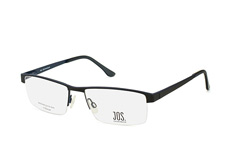 Jos.Eschenbach Jos 981504 10, Rectangle Brillen, Schwarz
