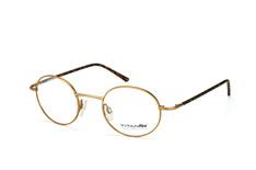 Titanflex 820679 20, Round Brillen, Goldfarben