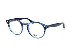 Ray-Ban RX 2180-V 5572, Round Brillen, Blau