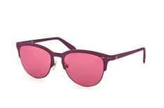 Calvin Klein CK 2140S 610, Browline Sonnenbrillen, Violett