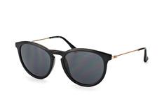 Calvin Klein CK 3174S 001, Round Sonnenbrillen, Schwarz