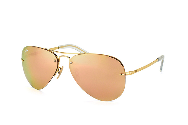 33a0a4c4c7 ... Sunglasses  Ray-Ban RB 3449 001 2Y. null perspective view ...