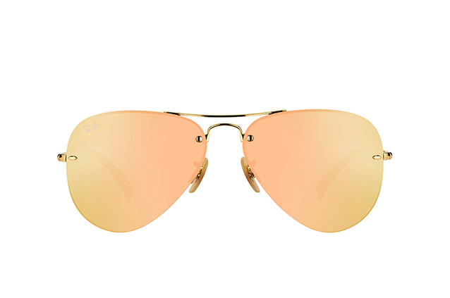 Ray-Ban RB 3449 001/2Y vista en perspectiva