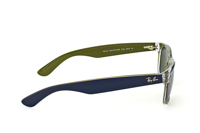 Ray-Ban New Wayfarer RB 2132 6188 vista en perspectiva
