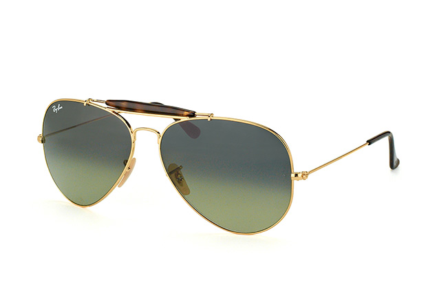 Ray-Ban Outdoorsman II RB 3029 181/71 Perspektivenansicht