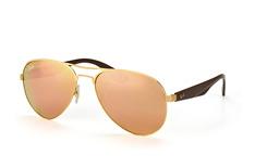 ray-ban-rb-3523-112-2y-aviator-sonnenbrillen-goldfarben