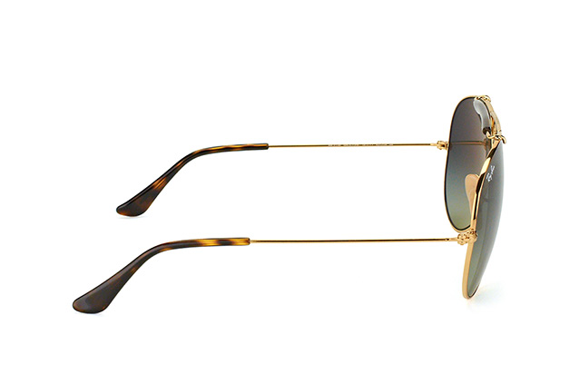 Ray-Ban SHOOTER RB 3138 181/71 vue en perpective