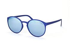 Le Specs Swizzle LSP 1502112, Round Sonnenbrillen, Blau