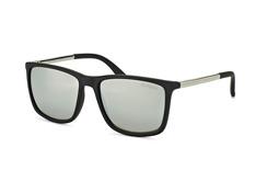 Le Specs Tweedledum LSP 1502104, Square Sonnenbrillen, Schwarz